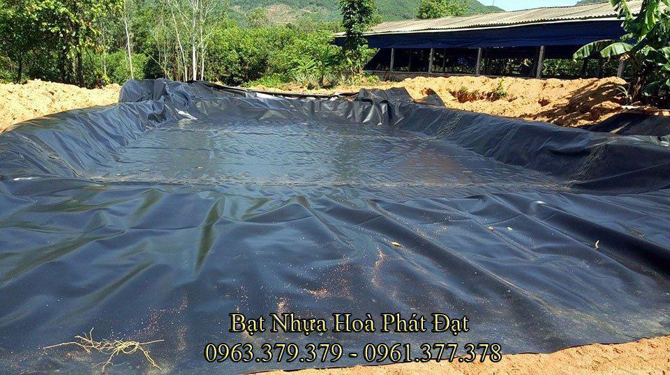 Bảng giá bán lẻ bạt lót hồ chứa nước, bạt nhựa chống thấm hồ nước HDPE độ bền cao trên 10 năm